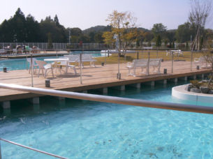 Other works m ogawa architects for Convert pool into garden